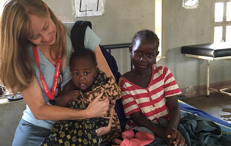 Rachel Noble provided mental health counseling to young Ugandans during an eight-day mission with the Medical Missions Foundation.