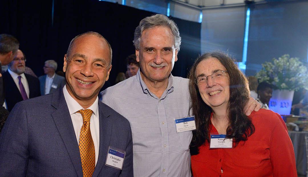 Chris Morphew, Bob Slavin and Nancy picture