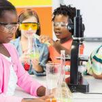 Kids learning science