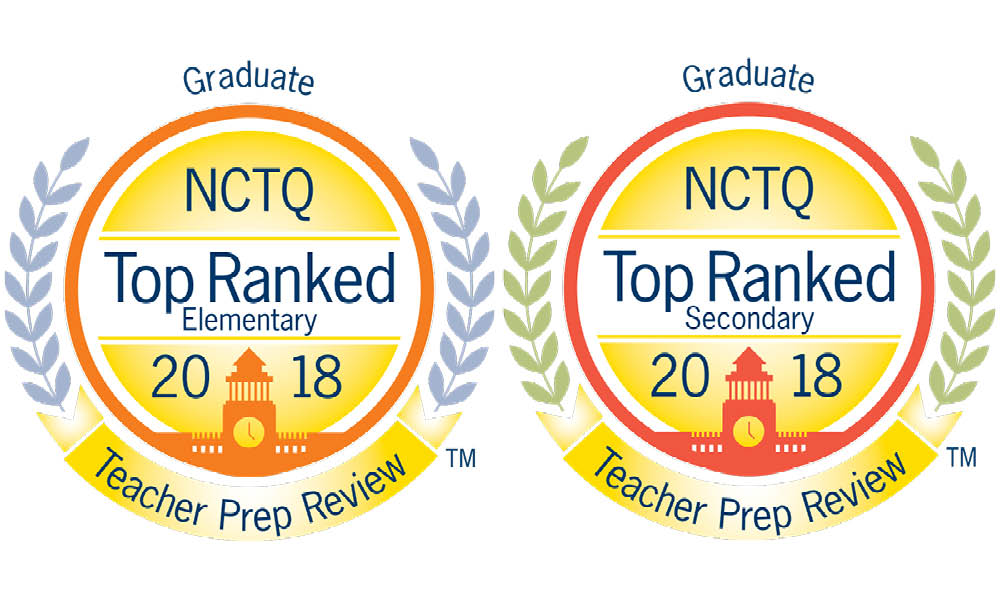NCTQ Top Ranked Graduate Teacher Prep Review
