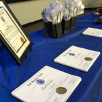 CSI certificates placed on table
