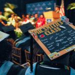 Graduation cap decorated
