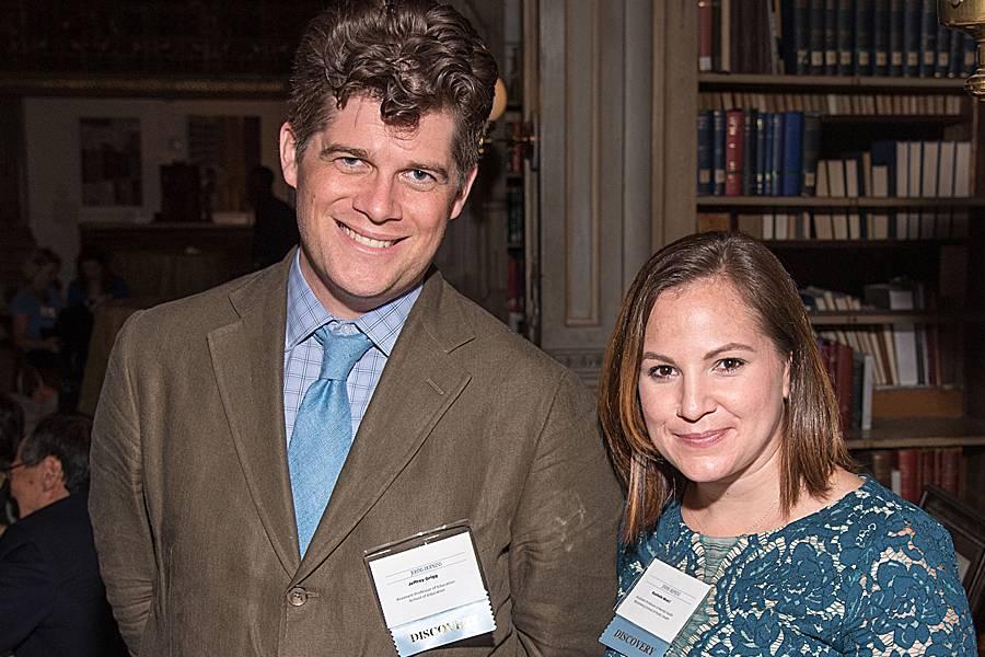 Jeffrey Grigg and Rashelle Musci Portrait