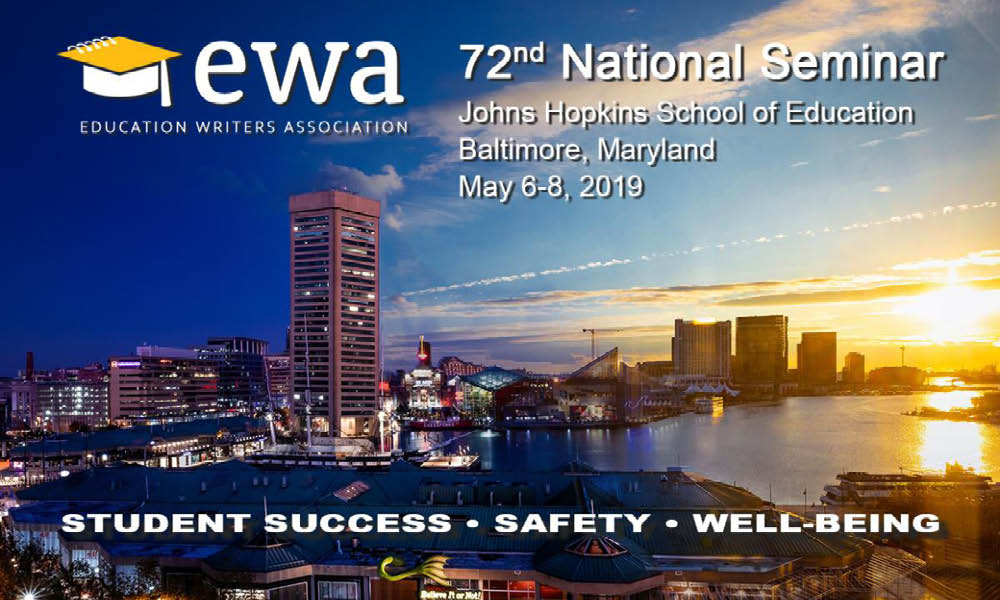 Education Writers Association announcement for 72nd National Seminar