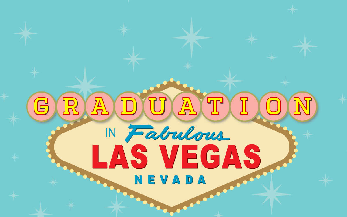 Las Vegas Graduation sign