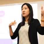 Lieny Jeon teaching