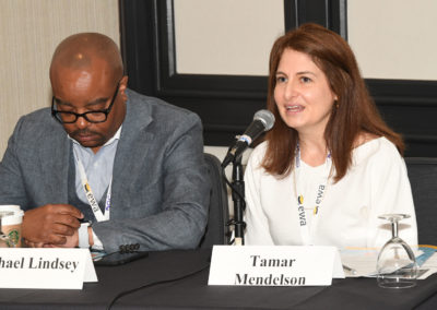 Pictured right: Tamar Mendelson, Director for the Center for Adolescent Health at Johns Hopkins School of Public Health