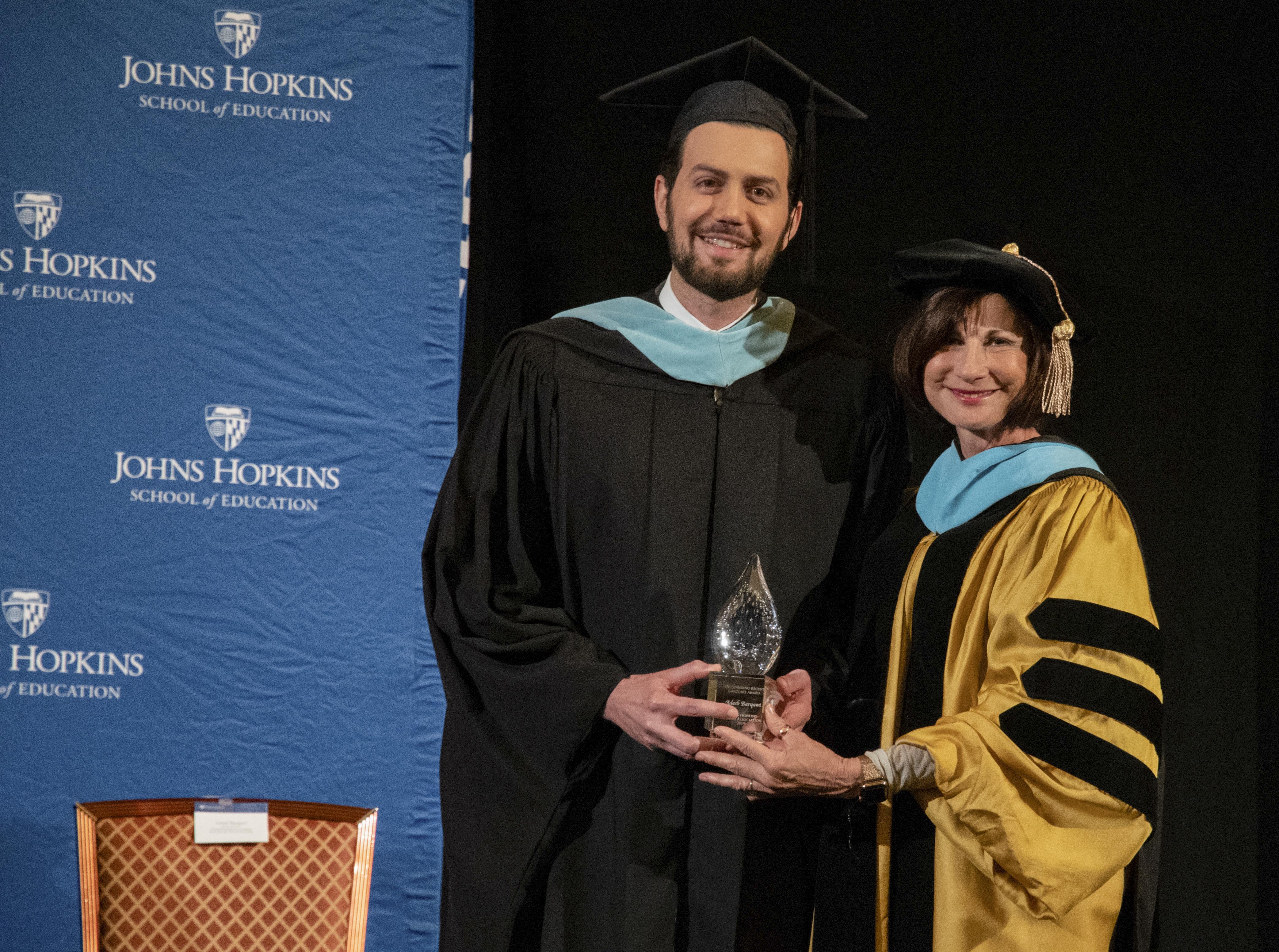 Adeeb Barqawi award image