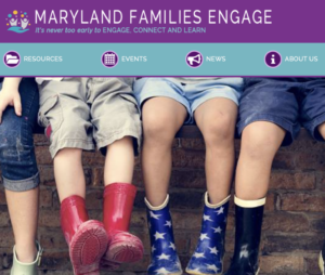 Maryland Families Engage Poster
