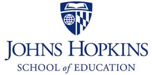 JHU School of Education logo